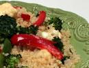 Earthy Garden Flavor with Quinoa and Fresh Veggies