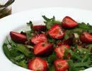 Delightful Summer Salad with Kiwi, Strawberries and Pecans