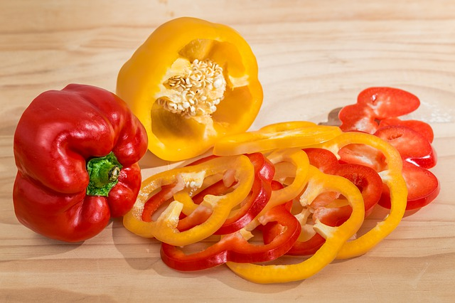 Bell Pepper Salad Recipe Photo - Diabetic Gourmet Magazine Recipes