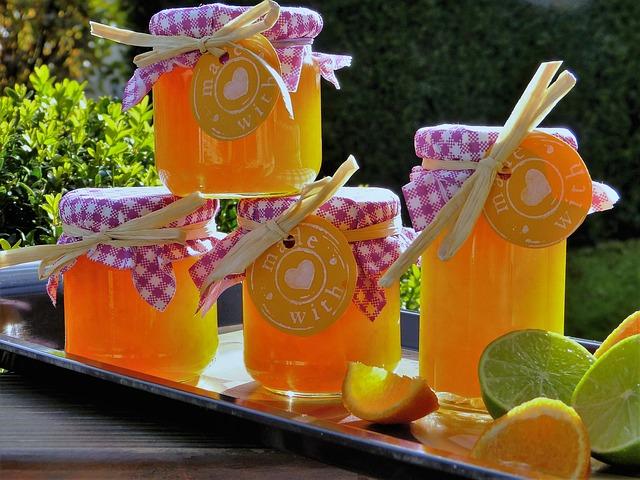 Orange-Rosemary Jelly Recipe Photo - Diabetic Gourmet Magazine Recipes