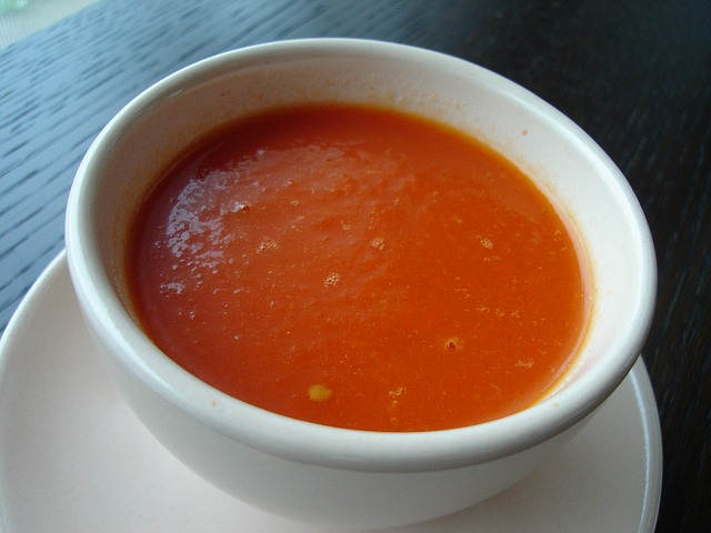 Old-Fashioned Tomato Soup Recipe Photo - Diabetic Gourmet Magazine Recipes
