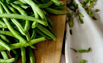 Green Beans with Sunflower Seeds