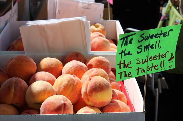 Country Peach Tart Recipe Photo - Diabetic Gourmet Magazine Recipes