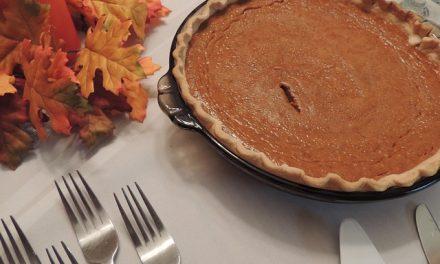 Happy Holiday Pumpkin Pie