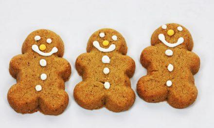 Merry Gingerbread Cookies