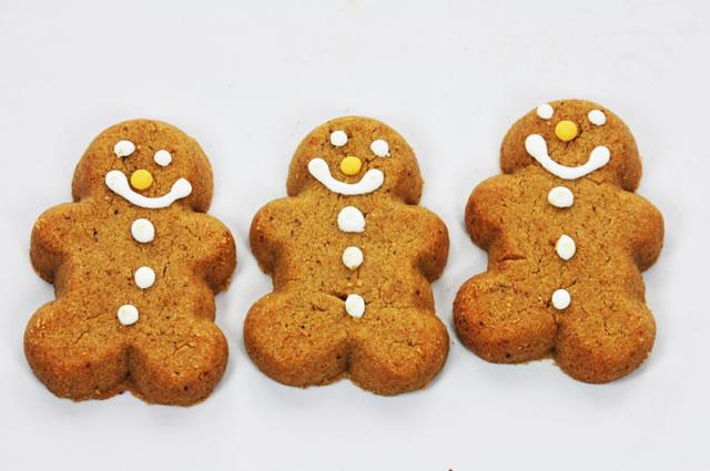 Merry Gingerbread Cookies Recipe Photo - Diabetic Gourmet Magazine Recipes