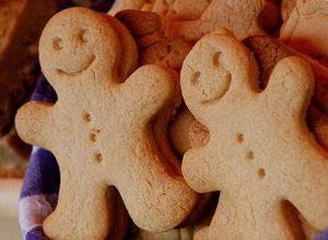 Sugar Free Gingerbread Man Cookies - Diabetic-Friendly
