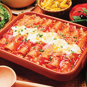 Have a Happy, Healthy Father's Day with Recipes Like Grilled Chicken Enchiladas