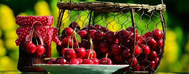 Low Carb Cherry Jam Recipe Photo - Diabetic Gourmet Magazine Recipes