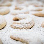 Snowy Vanilla Pecan Crescents