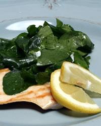 A Grill, a Green Salad, a Great Dish