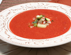 Beat the Heat with Red Pepper Gazpacho
