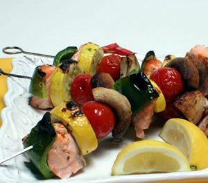 A Shish Kebab Ideal for a Summer Backyard Picnic