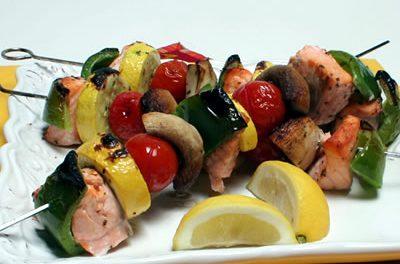Mediterranean-Style Oven Kebabs