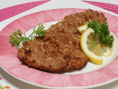 Almond and Whole Wheat Crusted Tilapia