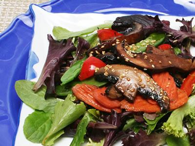 A Meaty Meatless Salad