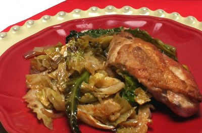 Cabbage Goes Gourmet For St. Patrick's Day