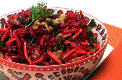 Give Salad a French Accent with Fresh Beets