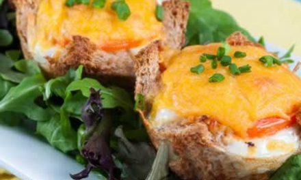 A Festive, Sustaining Breakfast: Eggs in a Nest