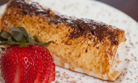 A Memorable Dessert: Chocolate Banana Strudel