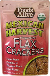 Organic Mexican Harvest Flax Crackers