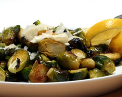 Brussels Sprouts with Tuscan Flavor