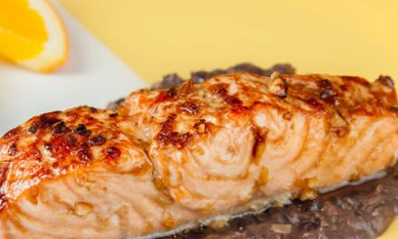 Make Asian-Style Glazed Salmon with Black Bean Sauce