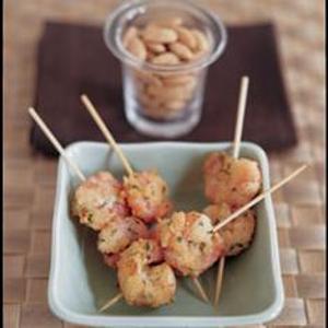 Almond Crusted Shrimp Recipe Photo - Diabetic Gourmet Magazine Recipes