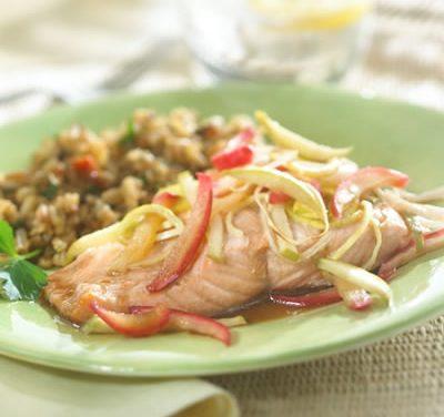 Apple-Balsamic Salmon