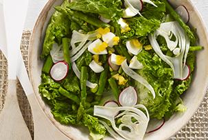 Asparagus and Edamame Salad