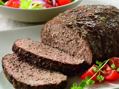 Athenian Meatloaf with Yogurt-Cucumber Sauce Recipe Photo - Diabetic Gourmet Magazine Recipes
