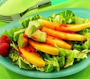 Avocado and Mango Salad with Acai-Berry Vinaigrette