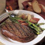 Balsamic Marinated Steak & Asparagus