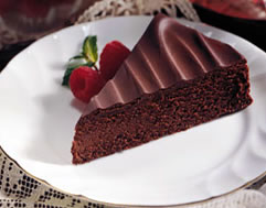 Bittersweet Chocolate Torte Diabetic Recipe Diabetic Gourmet