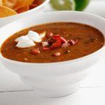 Black Bean and Chorizo Soup