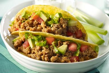 Buffalo Turkey Tacos