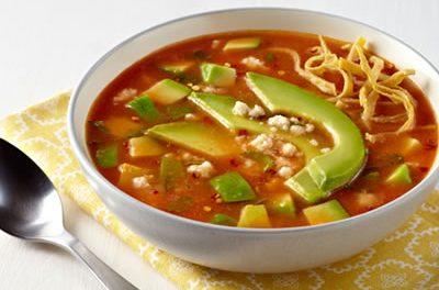 California Avocado Tortilla Soup