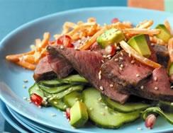 California-Roll Beef Salad