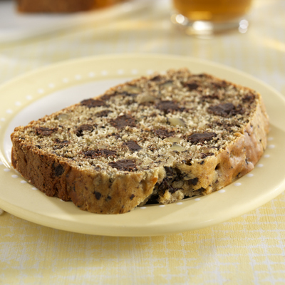 Chocolate Chunk Banana Nut Bread Diabetic Recipe