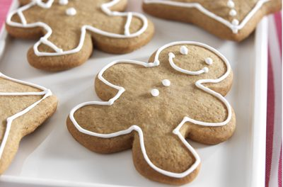 Christmas Gingerbread Men Cookies
