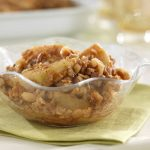 Granny Smith's Apple Crisp recipe photo from the Diabetic Gourmet Magazine diabetic recipes archive.