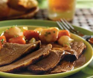 Irish Beef Pot Roast with Vegetables
