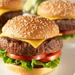Classic Cheese Burger - Safe for Diabetic Meal Plan