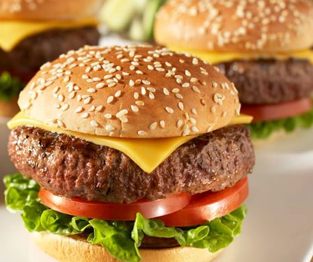 Leaner Classic Cheese Burgers