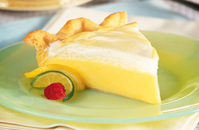 Lemon Meringue Pie Recipe Photo - Diabetic Gourmet Magazine Recipes