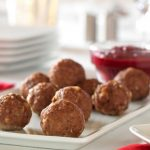 Meatballs with Cranberry Barbecue Sauce
