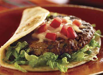 Mexican Fiesta Burgers Con Queso