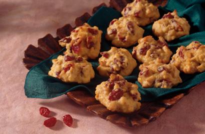 Orange Cranberry Cookies Recipe Photo - Diabetic Gourmet Magazine Recipes