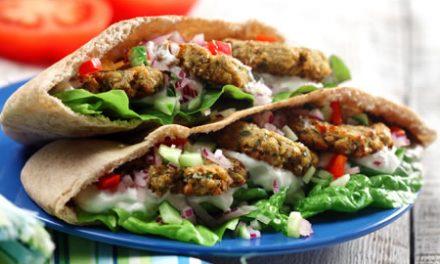 Oven-Roasted Falafel