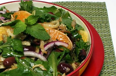 Pan Seared Fennel and Orange Salad